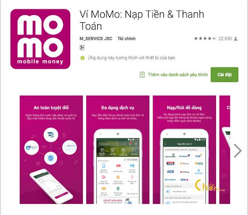 Ứng dụng Momo