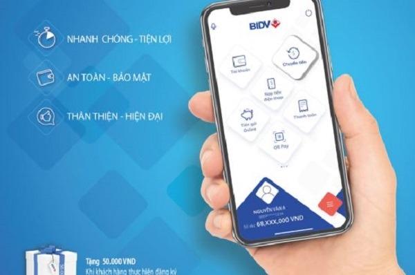 Gửi tiết kiệm online BIDV thông qua ứng dụng BIDV Smart Banking