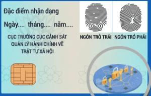 thẻ căn cước công dân mặt sau