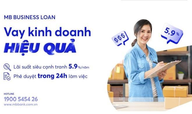 Vay kinh doanh hiệu quả với MB Bank