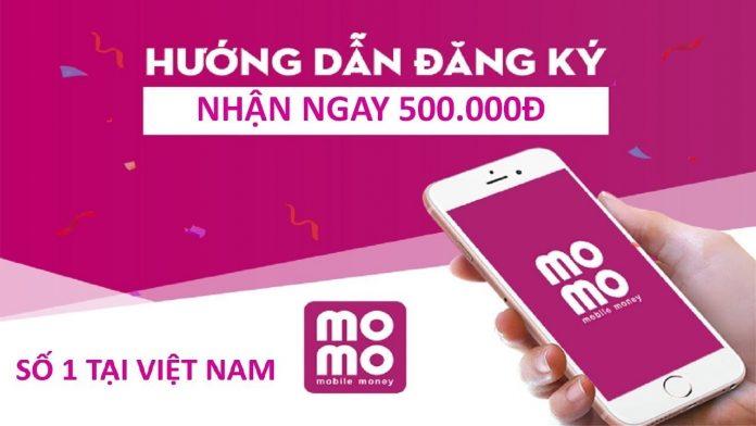 Đăng ký momo nhận 500k
