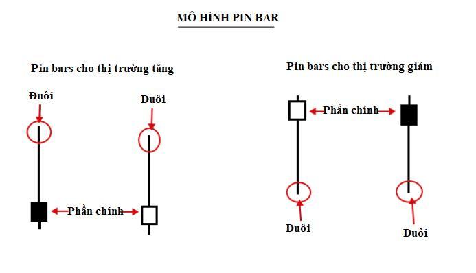 Nến Pin Bar