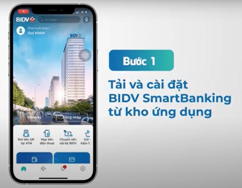 Tải app BIDV SmartBanking